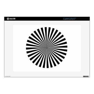 La ilusión óptica permite que una considere unos portátil calcomanía