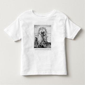 La imagen de dama Astrology con los tres Tee Shirt