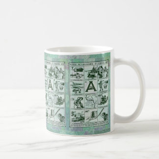 La imagen del rompecabezas nombra la taza
