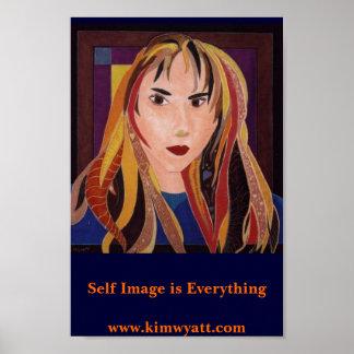 La imagen del uno mismo es todo posters