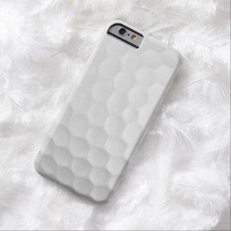 La imagen fresca de la pelota de golf blanca forma funda barely there iPhone 6