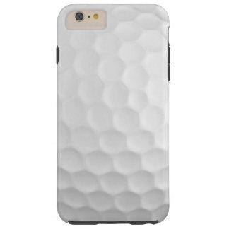 La imagen fresca de la pelota de golf blanca forma funda resistente iPhone 6 plus