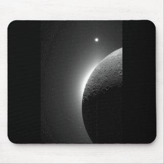 La imagen magnífica de la NASA, la luna se Alfombrillas De Ratones