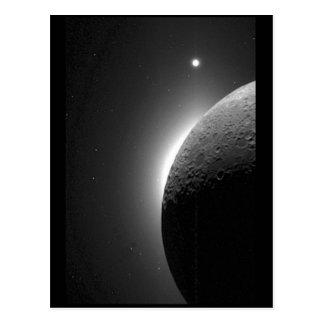 La imagen magnífica de la NASA, la luna se Postales