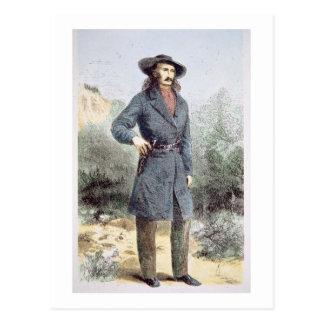 "La imagen primero publicada de ""Bill salvaje"" Tarjeta Postal"
