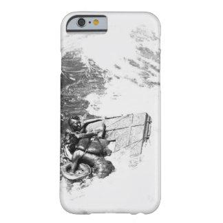 La imagen rescuing_War de U.S.S. Queenfish Funda De iPhone 6 Barely There