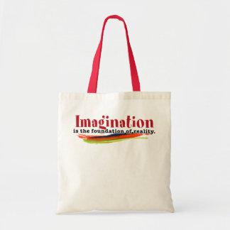 La imaginación es la fundación de la realidad bolsa tela barata