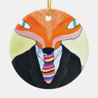 La importancia de Sr Fox - por PaperTrees Adorno De Navidad