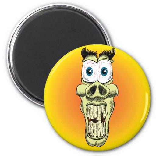 La importancia del botón del cuidado dental iman de frigorífico