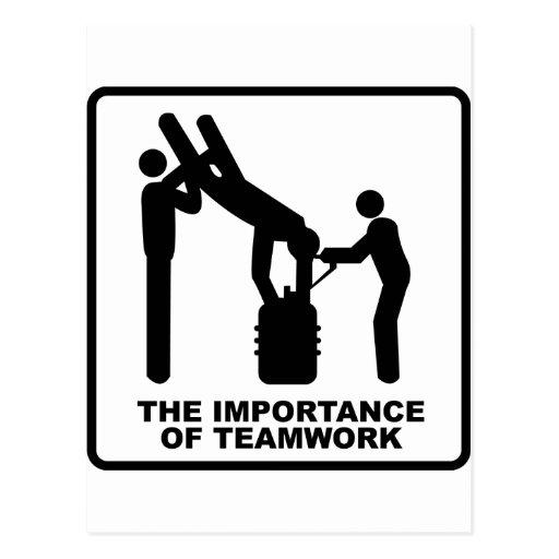 La importancia del trabajo en equipo postal