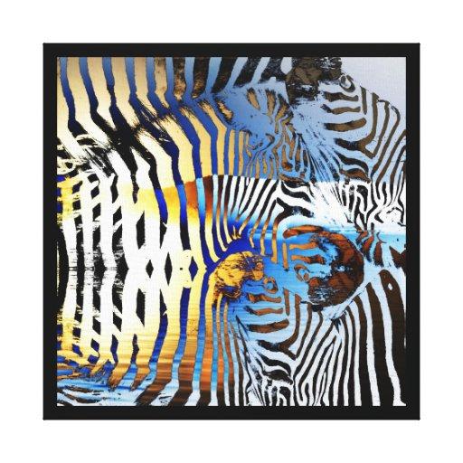 """La impresión abstracta """"sabana de la lona de la ce impresiones en lona estiradas"""