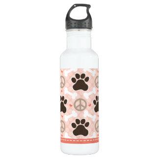 La impresión BPA de la pata de los perros del amor