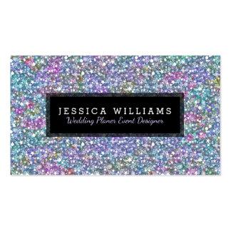 La impresión colorida moderna de la textura del tarjetas de visita