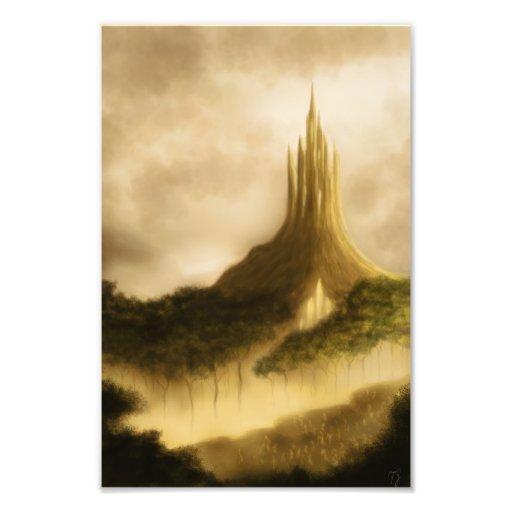 la impresión de la foto de la fantasía del reino d