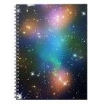La impresión de la galaxia protagoniza el modelo c cuaderno