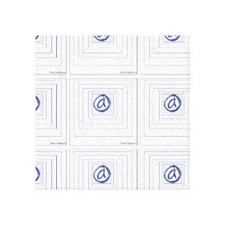 @ la impresión de la lona de arte del símbolo impresión en lona