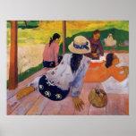 """""""La impresión de Paul Gauguin de la siesta"""" - Impresiones"""
