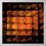 La impresión del arte abstracto de la pared impresiones