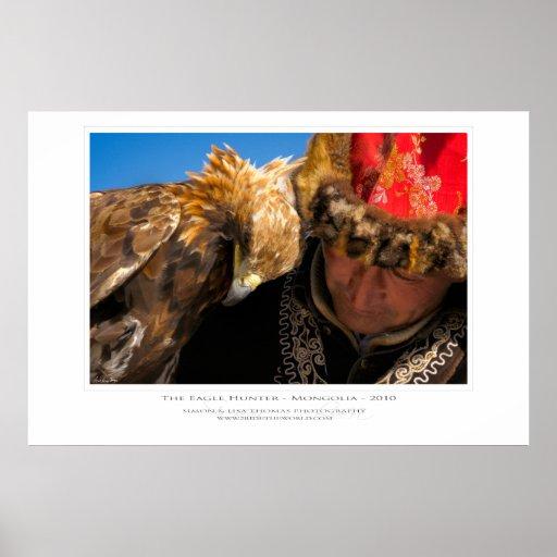 La impresión del cazador de Eagle Impresiones