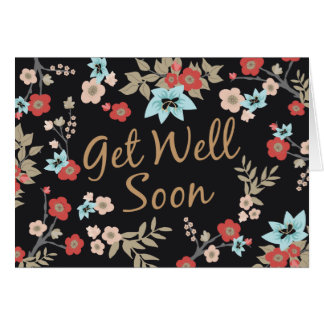 Browse the Get Well Soon Cards Collection and personalize by color, design, or style.