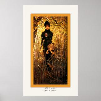 La impresión huérfana de la bella arte del ~ de Ja Posters