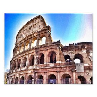 La impresión magnífica de Colosseum Fotografías