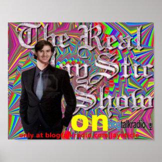 La impresión real de la lona de JaySticShow Posters