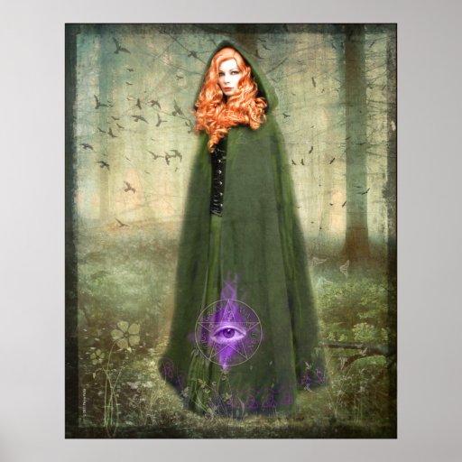 La impresión witching de la hora poster