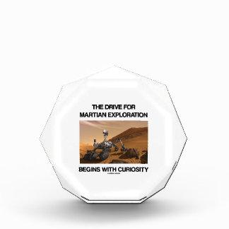 La impulsión para la exploración marciana comienza