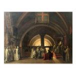 La inauguración de Jacques de Molay Tarjetas Postales