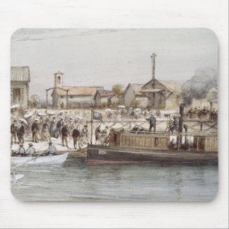 La inauguración del canal de Suez Alfombrillas De Ratón