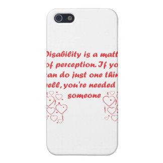 ¡La incapacidad es una cuestión de opinión iPhone 5 Coberturas