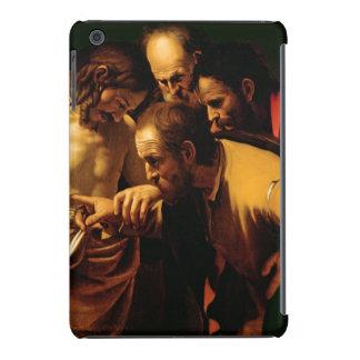 La incredulidad de St Thomas, 1602-03 Funda De iPad Mini