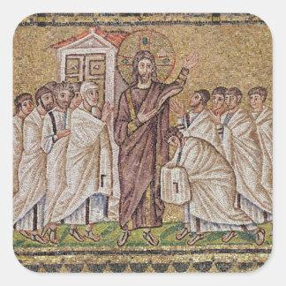 La incredulidad de St Thomas Colcomanias Cuadradas Personalizadas