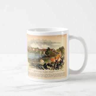La incursión americana de Morgan de la guerra Taza De Café