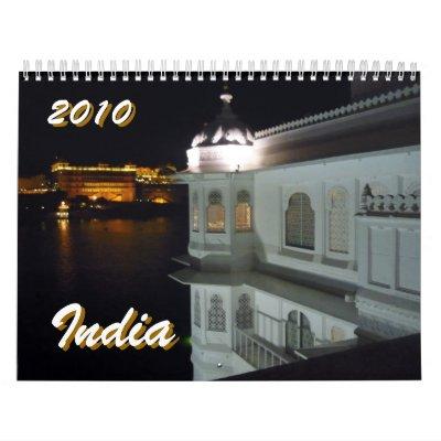 la India 2010 Calendario