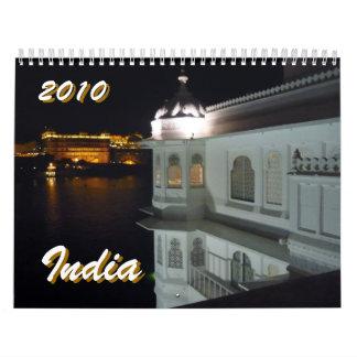 la India 2010 Calendarios De Pared