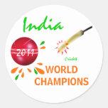 La India 2011 mundiales del grillo ICC defiende al