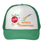 La India 2011 mundos del grillo ICC defiende el go Gorras De Camionero