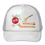 La India 2011 mundos del grillo ICC defiende el go Gorra