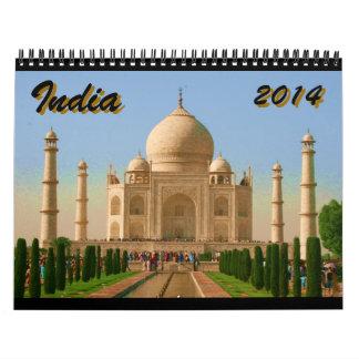 la India 2014 Calendario