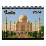 la India 2014 Calendarios De Pared