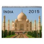 la India 2015 Calendarios De Pared