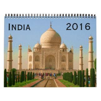 la India 2016 Calendario