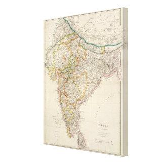 La India 7 Lienzo Envuelto Para Galerias