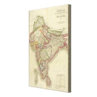 La India 7 Impresion De Lienzo