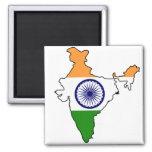 La India ADENTRO Imán Cuadrado
