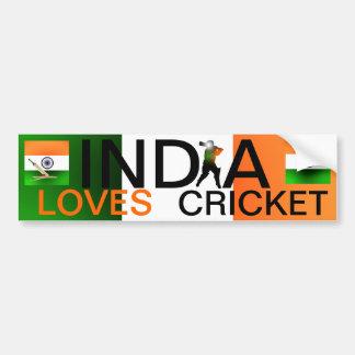 La India ama a la pegatina para el parachoques del Pegatina Para Auto