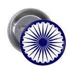 La India Ashoka Chakra Pin