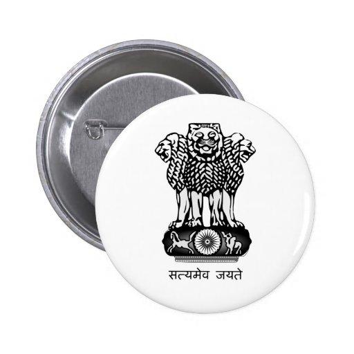 La India Ashoka Chakra Pins